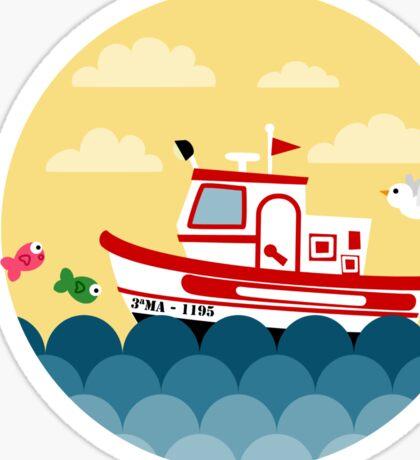 Fishing Boat Sticker