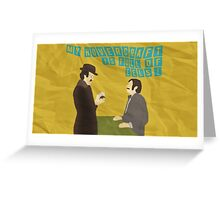 "Monty Python ""Dirty Hungarian Phrasebook"" Greeting Card"