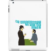 "Monty Python ""Dirty Hungarian Phrasebook"" iPad Case/Skin"