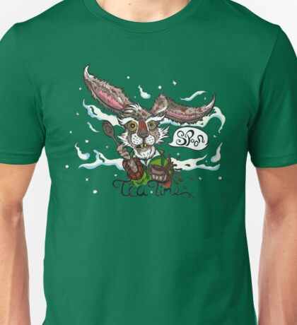 Mad as a March Hare Unisex T-Shirt