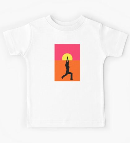 Pop Art Yoga Warrior Kids Tee