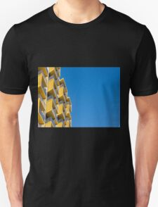 Blue and Yellow Unisex T-Shirt