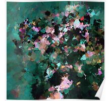 Contemporary Abstract Art Poster