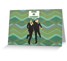 "Morecambe and Wise ""Bring Me Sunshine"" Greeting Card"