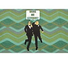 """Morecambe and Wise """"Bring Me Sunshine"""" Photographic Print"""