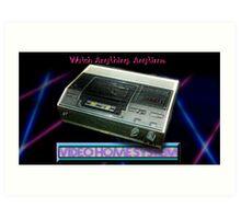 VCR! Art Print