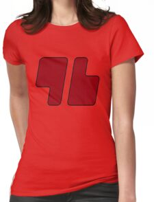 """96 Design"" Trainer Red Pokémon Sun & Pokémon Moon Cosplay BEST QUALITY ON WEBSITE Womens Fitted T-Shirt"