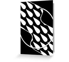 Sweat (Black) Greeting Card