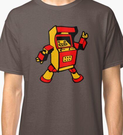 arcade robot gaming gamer funny geek  Classic T-Shirt