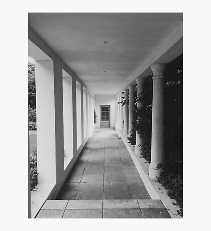 Garage Walkway Photographic Print