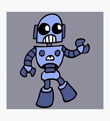 arcade robot gaming gamer funny geek  Photographic Print