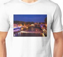 Impressions of Rome - Summer Festival on the Banks of Tiber River Unisex T-Shirt