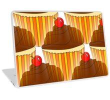 Cupcake Display Laptop Skin