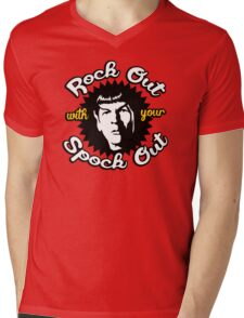 Rock out with your Spock out Mens V-Neck T-Shirt