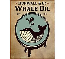Wundall & Co Whale Oil Photographic Print