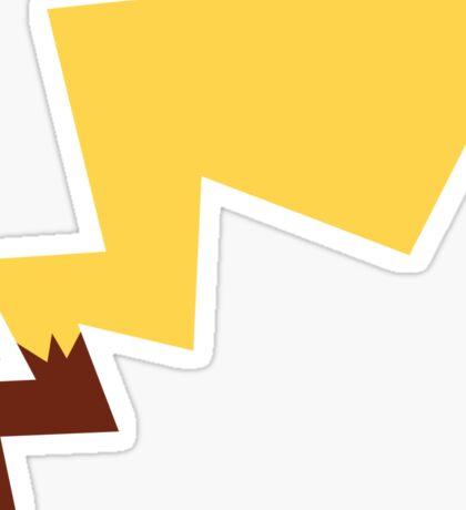 Male Pikachu Tail Sticker