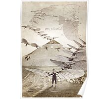 Otto Lilienthal Poster