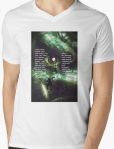 Lion Turtle Wisdom - An ATLA Design Mens V-Neck T-Shirt