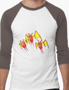 Magibat Men's Baseball ¾ T-Shirt