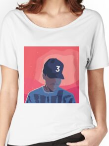 Chance the Rapper - Coloring Book with Background Women's Relaxed Fit T-Shirt