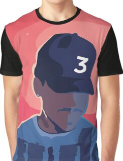 Chance the Rapper - Coloring Book with Background Graphic T-Shirt