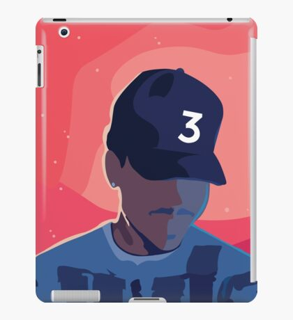 Chance the Rapper - Coloring Book with Background iPad Case/Skin