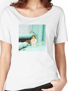 ::: { THE LADY } ::: Women's Relaxed Fit T-Shirt