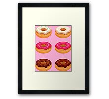 My Six Pack... of Donuts Framed Print