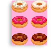 My Six Pack... of Donuts Canvas Print