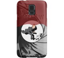 Tin Tin vs James Bond Samsung Galaxy Case/Skin