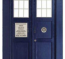 Tardis - Doctor Who by Iskanders