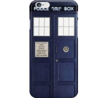 Tardis - Doctor Who iPhone Case/Skin