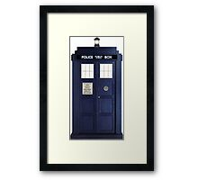 Tardis - Doctor Who Framed Print