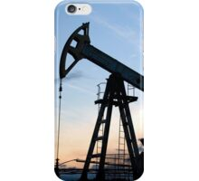 Oil pump iPhone Case/Skin