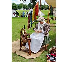 Re Enactment in Rhuthin North Wales UK Photographic Print