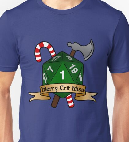 Merry Crit Miss Unisex T-Shirt