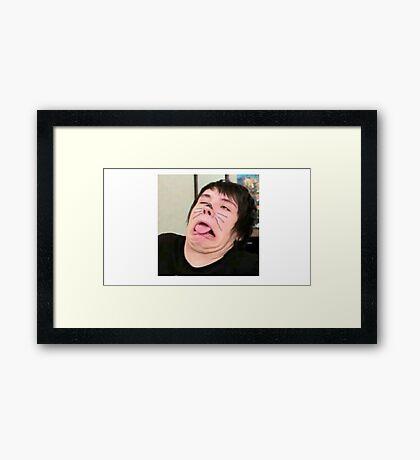 Meme Dan Framed Print