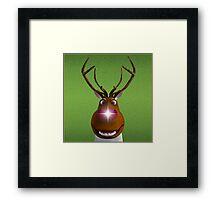 Where's the Reindeer? Framed Print