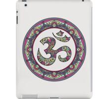OM Mandala - Circle Ehnic Ornament iPad Case/Skin