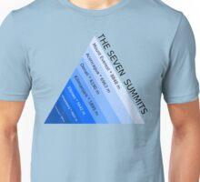 The Seven Mountain Summits Unisex T-Shirt