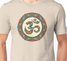 OM Mandala - Circle Ehnic Ornament Unisex T-Shirt