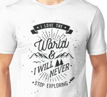 Love The Wold Unisex T-Shirt