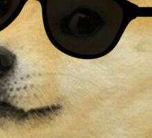 Doge deal with it dog meme Sticker