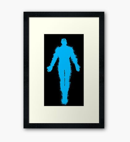 Dr Manhattan Watchmen Framed Print