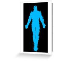 Dr Manhattan Watchmen Greeting Card