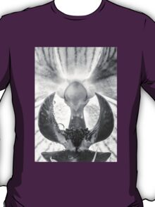 Water perls on a Orchid T-Shirt