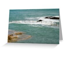 Natural Pool in Guernsey Greeting Card