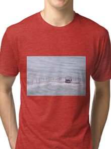 Pool in Guernsey Tri-blend T-Shirt