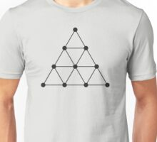 Tetraktys, The Unit Of Four - Pythagoras  Unisex T-Shirt