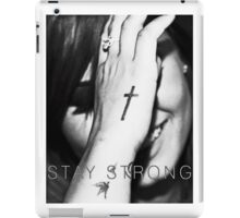 Demi Lovato Stay Strong Halftone iPad Case/Skin